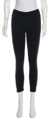 Theory Low-Rise Cropped Leggings