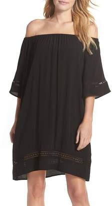 Muche et Muchette City Wide Off the Shoulder Cover-Up Dress