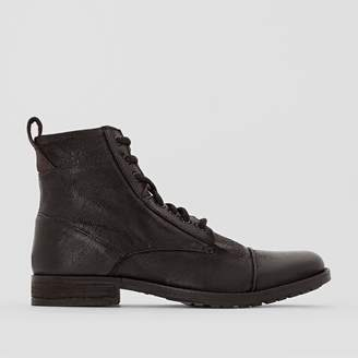 Levi's Leather Lace-Up Ankle Boots