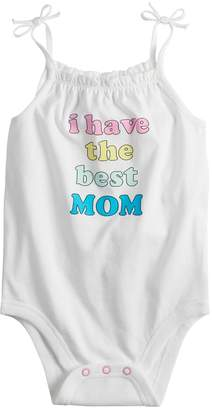 Baby Girl Jumping Beans Graphic Bodysuit