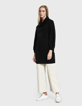 Callahan Shaker Knit Turtleneck Dress