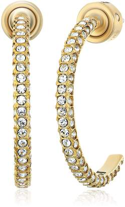 Michael Kors Beyond Brilliant Celestial -Tone Hoop Earrings
