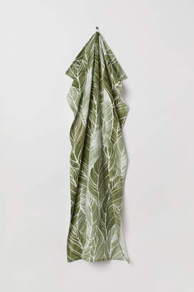 H&M Patterned Bath Towel - Green
