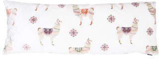 20x54 Plush Llama Body Pillow