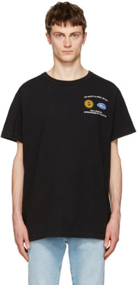Off-White Black Work T-Shirt $305 thestylecure.com