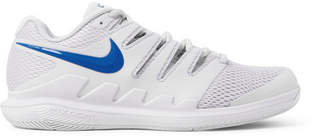 Nike Tennis - Air Zoom Vapor X Rubber And Mesh Tennis Sneakers - White
