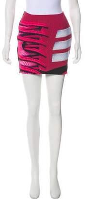 Mary Katrantzou x Adidas Printed Mini Skirt