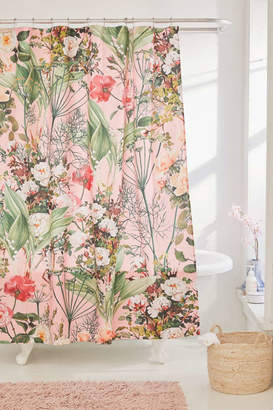 Deny Designs 83 Oranges For Deny Botanic Shower Curtain