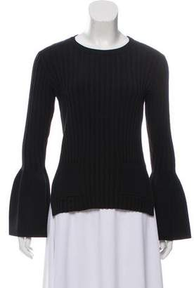 Celine Long Sleeve Ribbed Top