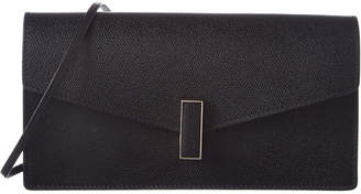 Valextra Iside Leather Clutch