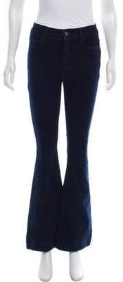 Stella McCartney Flared Mid-Rise Jeans