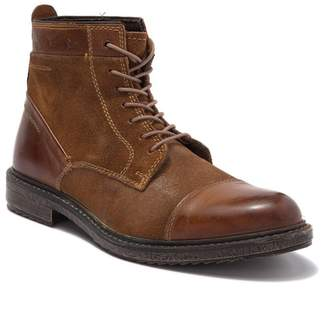 Bed Stu Roan by Dustin Cap Toe Leather & Suede Boot