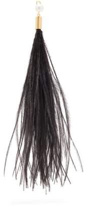 Hillier Bartley - Feather Single Earring Charm - Womens - Black