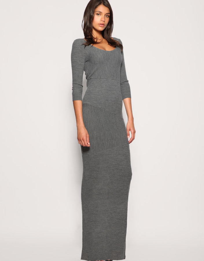 ASOS Knitted Maxi Dress