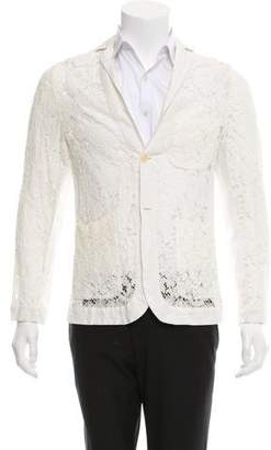 Romeo Gigli Joyce by Floral Lace Sport Coat