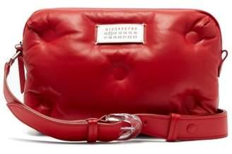 Maison Margiela Glam Slam Leather Belt Bag - Womens - Red