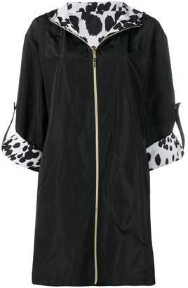Class Roberto Cavalli reversible zipped-up coat
