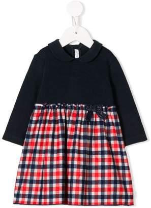 Il Gufo checked skirt dress