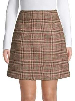 Max Mara Beato Wool A-Line Skirt