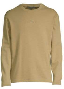 Belstaff Men's Reydon Cotton Fleece Logo Sweatshirt - Green - Size XXL