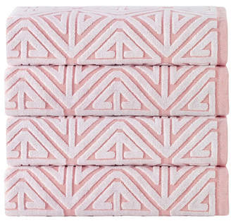 Enchante Home Glamour 4-Pc. Turkish Cotton Bath Towel Set Bedding