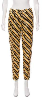 Dries Van Noten High- Rise Striped Pants w/ Tags