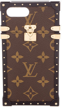 Louis Vuitton Louis Vuitton 2017 Monogram Eye-Trunk iPhone 7 Plus Case