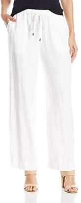 Chaus Women's Linen Drawstring Pant