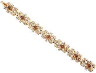 One Kings Lane Vintage Hattie Carnegie Faux-Topaz Bracelet