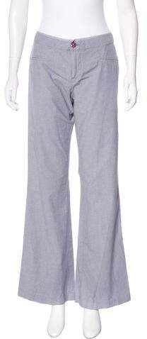 Marc by Marc Jacobs Mid-Rise Chambray Pants