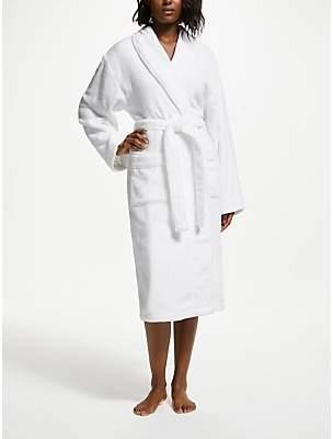 John Lewis & Partners Super Soft and Cosy Unisex Cotton Bath Robe