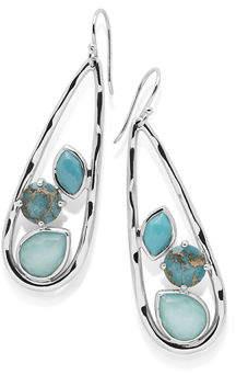 Ippolita Rock Candy Long Drop Earrings in Turquoise