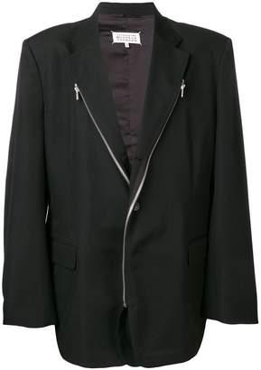 Maison Margiela contrast zip jacket