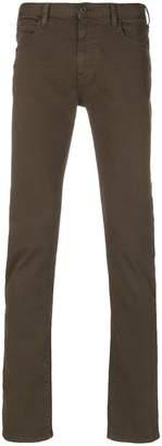 Armani Jeans slim-fit trousers