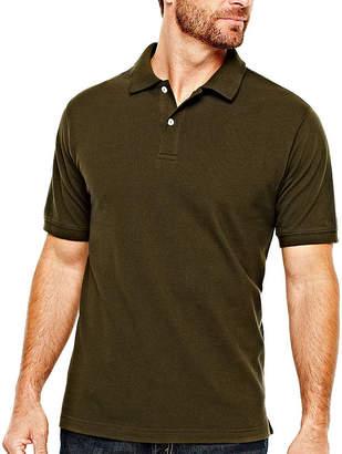 ST. JOHN'S BAY Legacy Piqu Polo Shirt