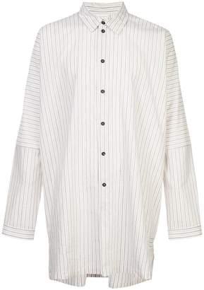 Jan Jan Van Essche flared striped shirt