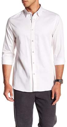 Ted Baker Modern Slim Fit Print Sport Shirt