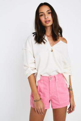 BDG Pink Skate Shorts - pink XS at Urban Outfitters