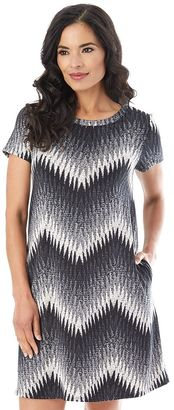 Women's Apt. 9 Printed Knit Dress $50 thestylecure.com