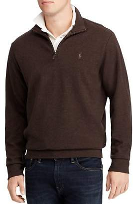 Polo Ralph Lauren Double-Knit Half-Zip Pullover Sweater
