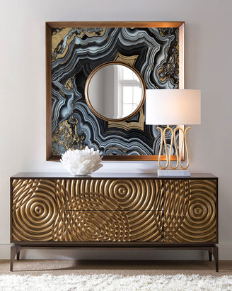 John-Richard Collection John Richard Collection Golden Swirl Sideboard