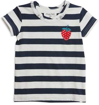 Sovereign Code Girls' Ortiza Stripe Tee - Little Kid
