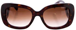 Prada Baroque Tortoiseshell Sunglasses $175 thestylecure.com