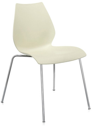 Kartell Maui Chair - Milky Yellow