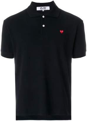 Comme des Garcons heart polo shirt