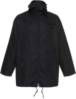 Prada Hooded Coache's Jacket