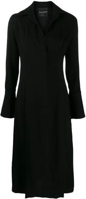 Cavallini Erika long-sleeve shirt dress