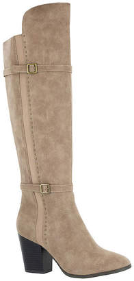 Easy Street Shoes Womens Melrose Dress Block Heel Zip Boots