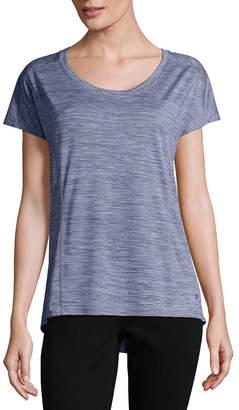 Xersion Short Sleeve Scoop Neck T-Shirt-Womens