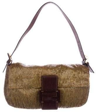 Fendi Beaded Baguette Bag